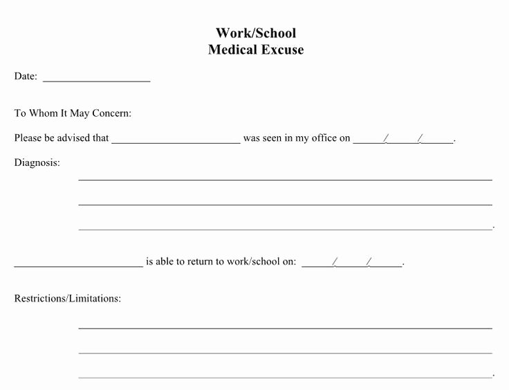 Fake Doctors Note for School New 21 Free Doctor Note Excuse Templates Template Lab