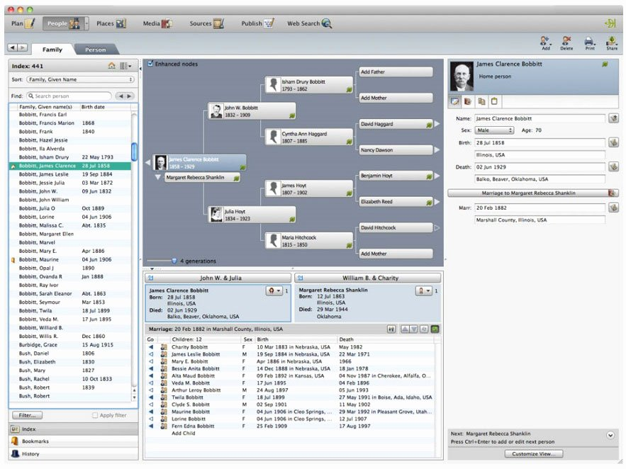 Family Tree Maker Free Online Awesome Amazon Family Tree Maker for Mac 2 [old Version]