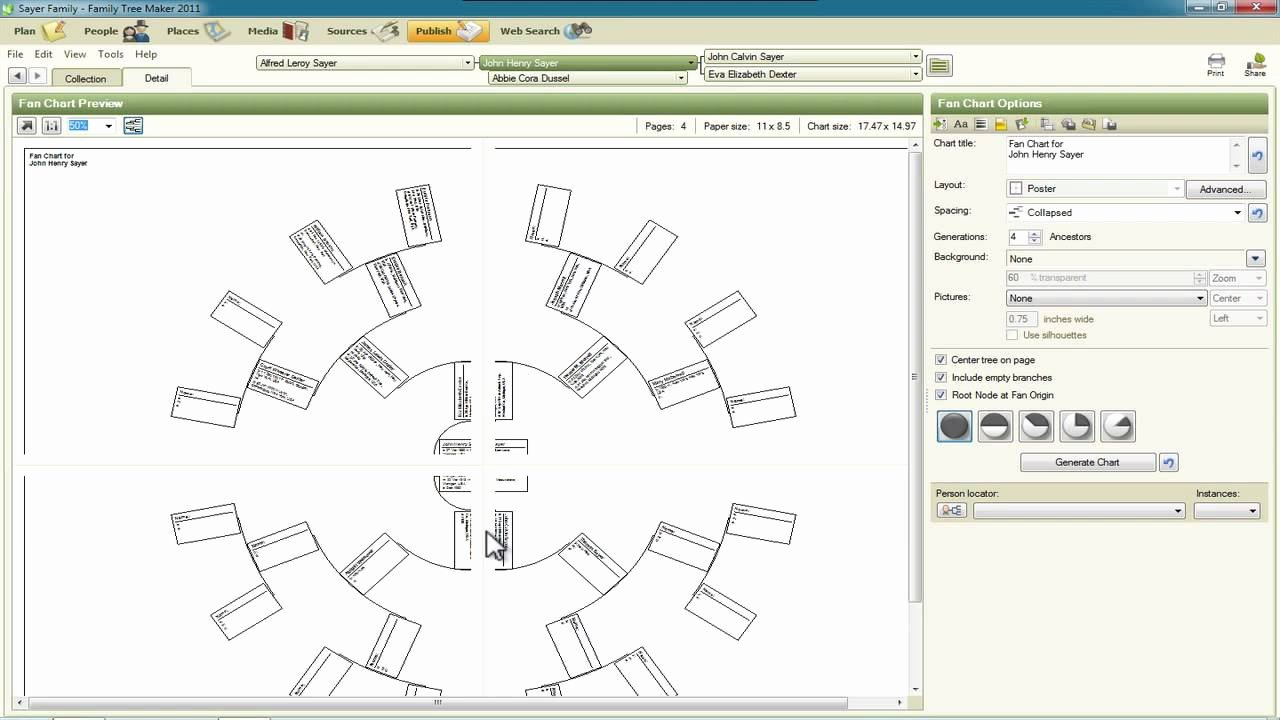 Family Tree Maker Free Online New Family Tree Maker 2011 New Charts and Settings