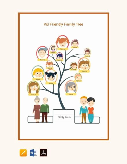 Family Tree Template Google Docs Fresh Free 56 Family Tree Templates In Word Apple
