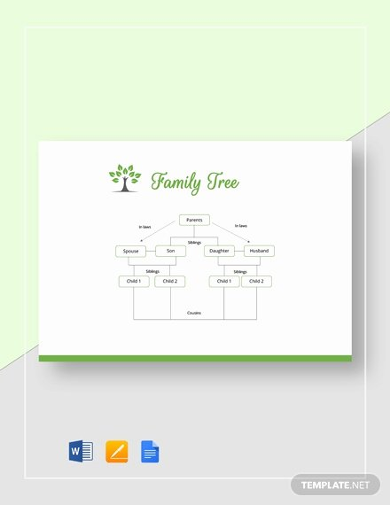 Family Tree Template Google Docs Unique 8 Family Genogram Templates Ms Word Google Docs Pages