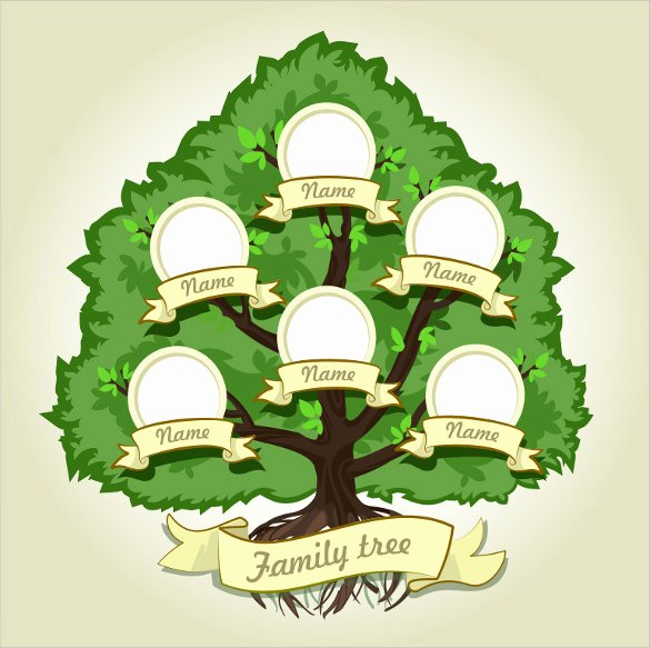 Family Tree Template Google Docs Unique Free 56 Family Tree Templates In Word Apple