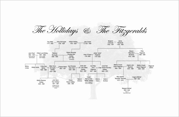 Family Tree Template Online Awesome Family Tree Template 11 Free Word Excel format