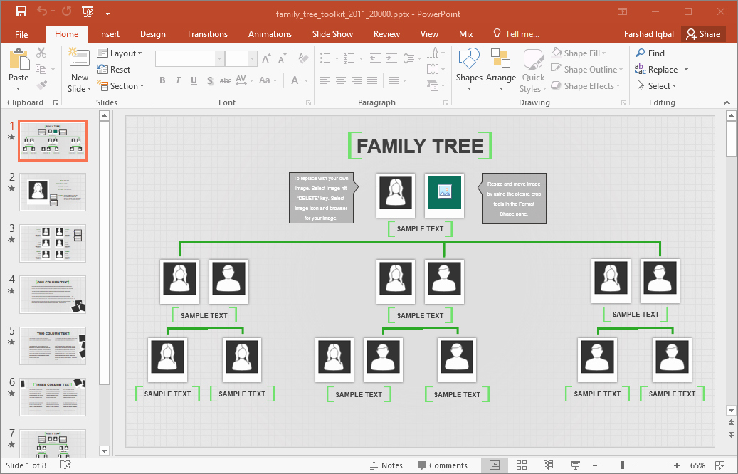 Family Tree Template Online Fresh Family Tree Template for Excel