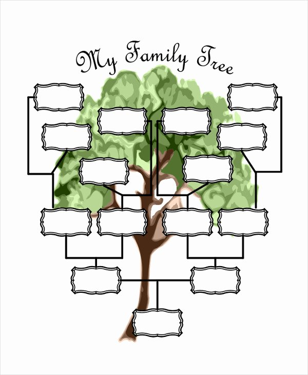 Family Tree Template Online Lovely 19 Family Tree Templates