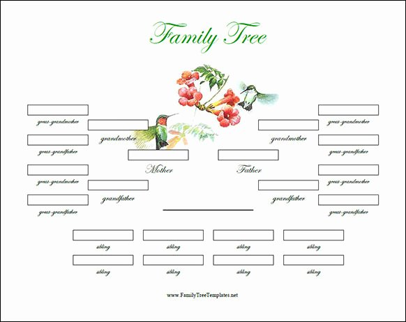 Family Tree Template Online Unique Free 56 Family Tree Templates In Word Apple