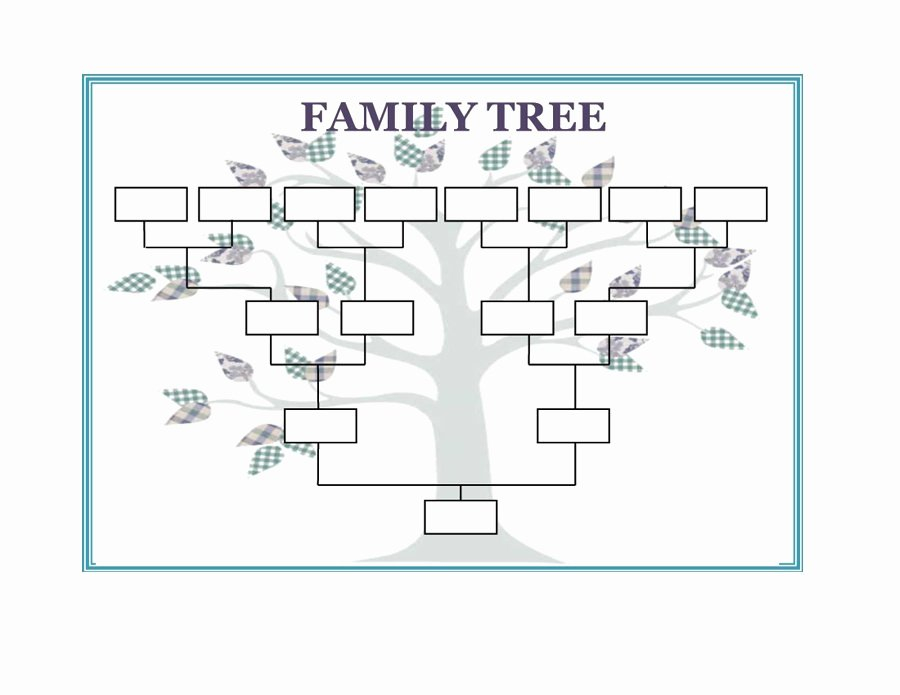 Family Tree Template Online Unique Printable Family Trees