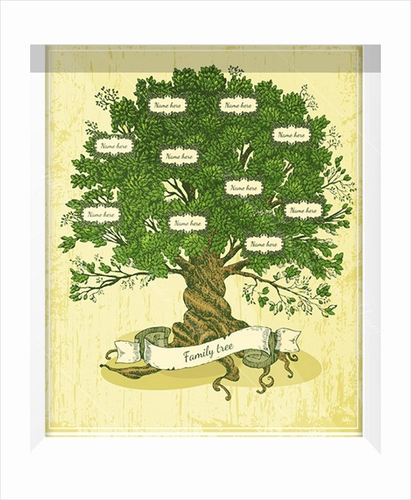 Family Tree Template with Siblings Fresh Family Tree Template 10 Free Psd Pdf Documents