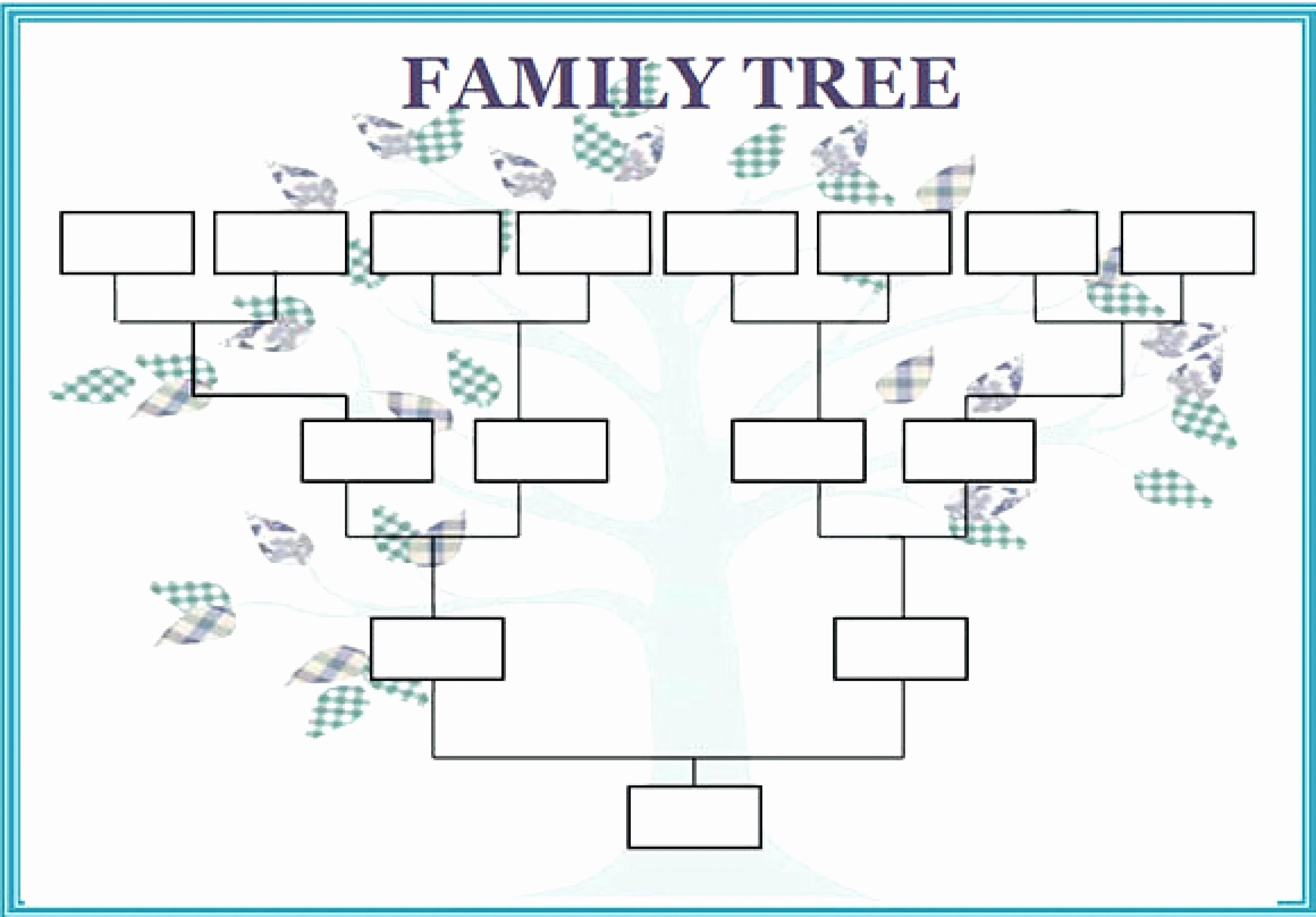 Family Tree Template with Siblings Inspirational 12 13 Family Tree Spreadsheet Template
