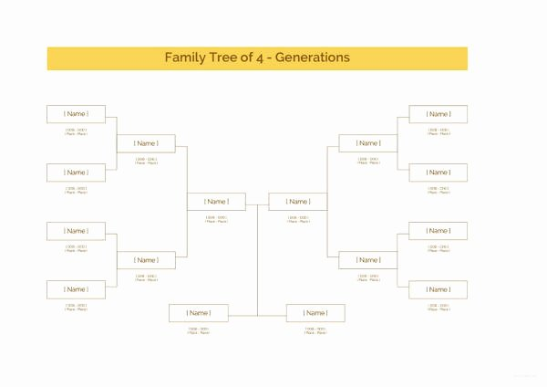 Family Tree Template with Siblings Luxury 9 Family Tree Template with Siblings Pdf Doc