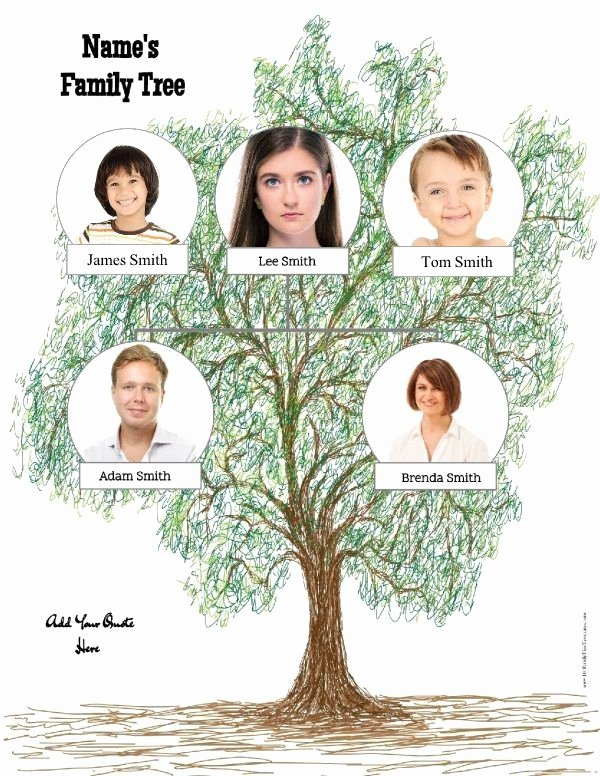 Family Tree Template with Siblings New Family Tree Template Family Tree Templates