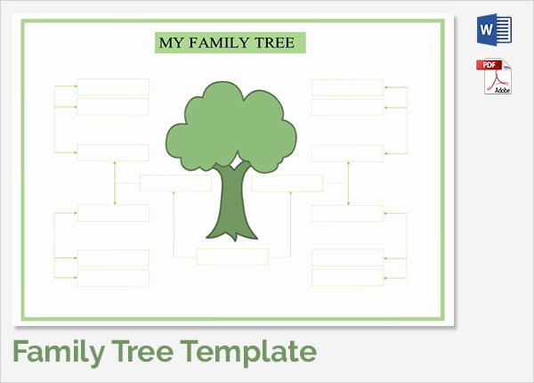 Family Tree Template with Siblings New Sample Family Tree Chart Template 17 Documents In Pdf