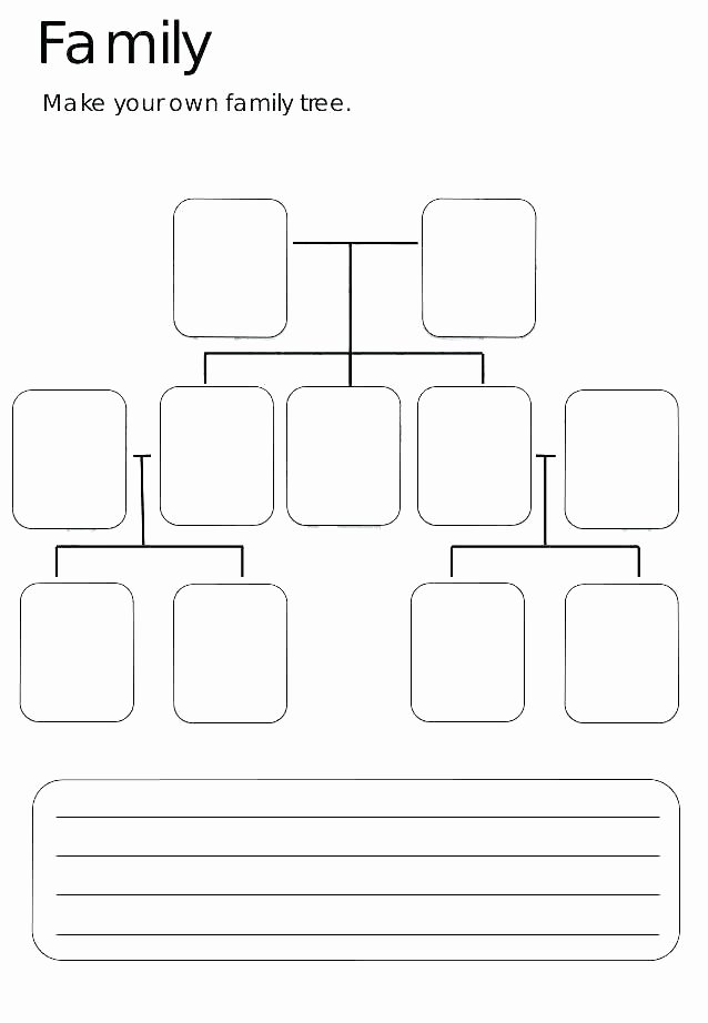 Family Tree Template with Siblings Unique Free Printable Family Tree Template