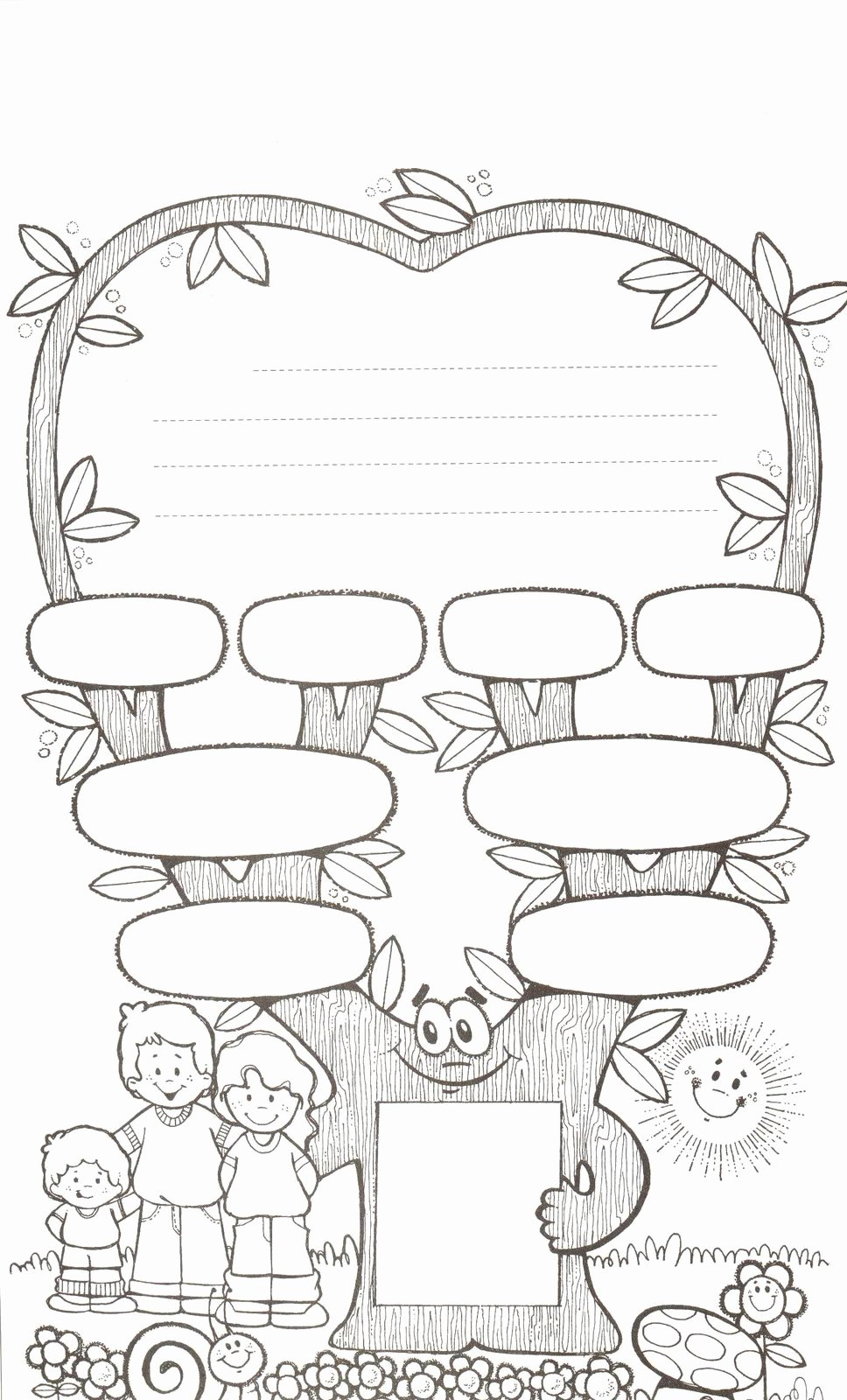Family Tree Worksheet Printable Awesome 1000 Images About Family Printables On Pinterest