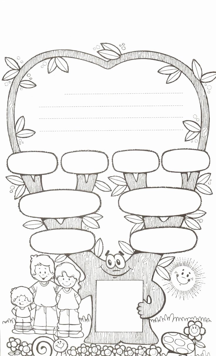 Family Tree Worksheet Printable Inspirational 11 Best Images About Family Printables On Pinterest
