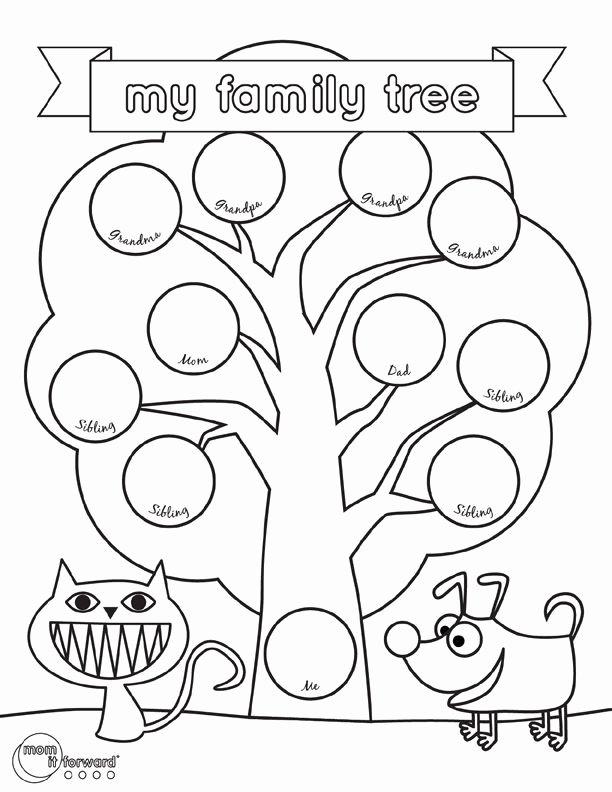 Family Tree Worksheet Printable Luxury Best 25 Family Tree Worksheet Ideas On Pinterest
