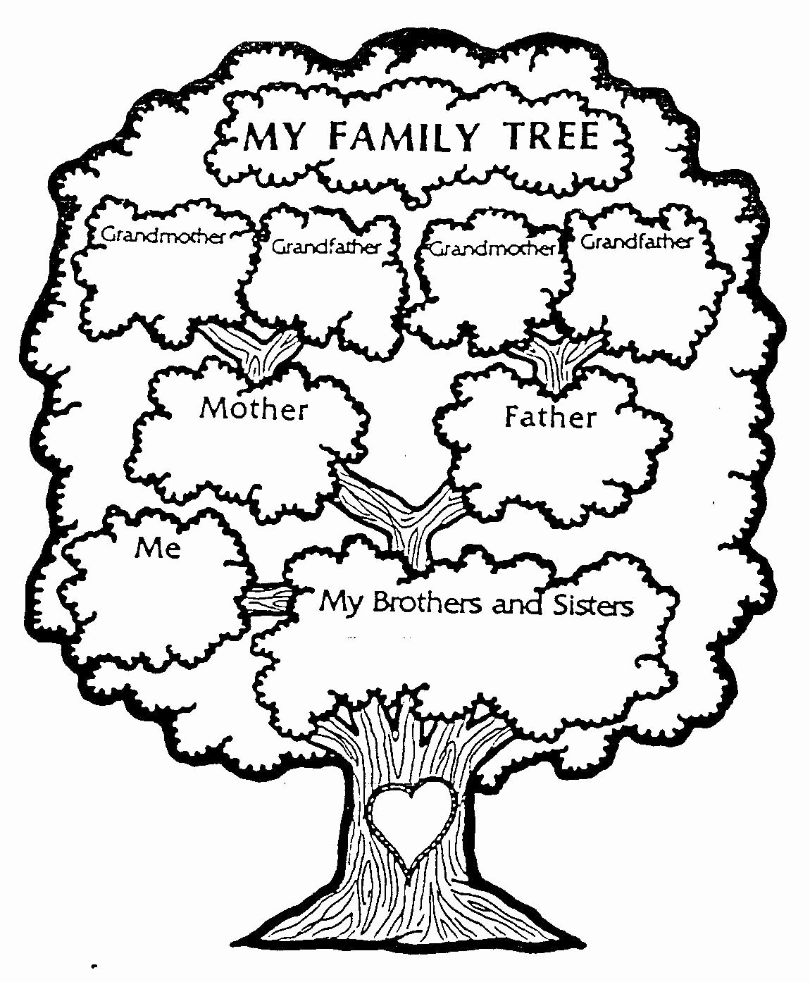 Family Tree Worksheet Printable Luxury Pin by Carly Van Dyke On Activity Days
