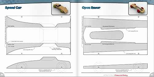 Fast Pinewood Derby Car Templates Elegant Getting Started In the Pinewood Derby Book