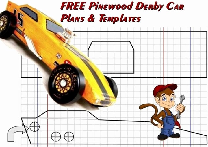 Fast Pinewood Derby Car Templates New Free Pinewood Derby Car Plans and Templates