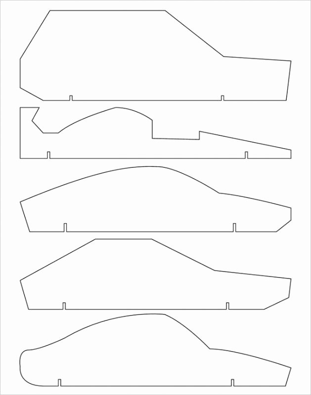 Fast Pinewood Derby Car Templates Unique Pinewood Derby Cars Designs Templates