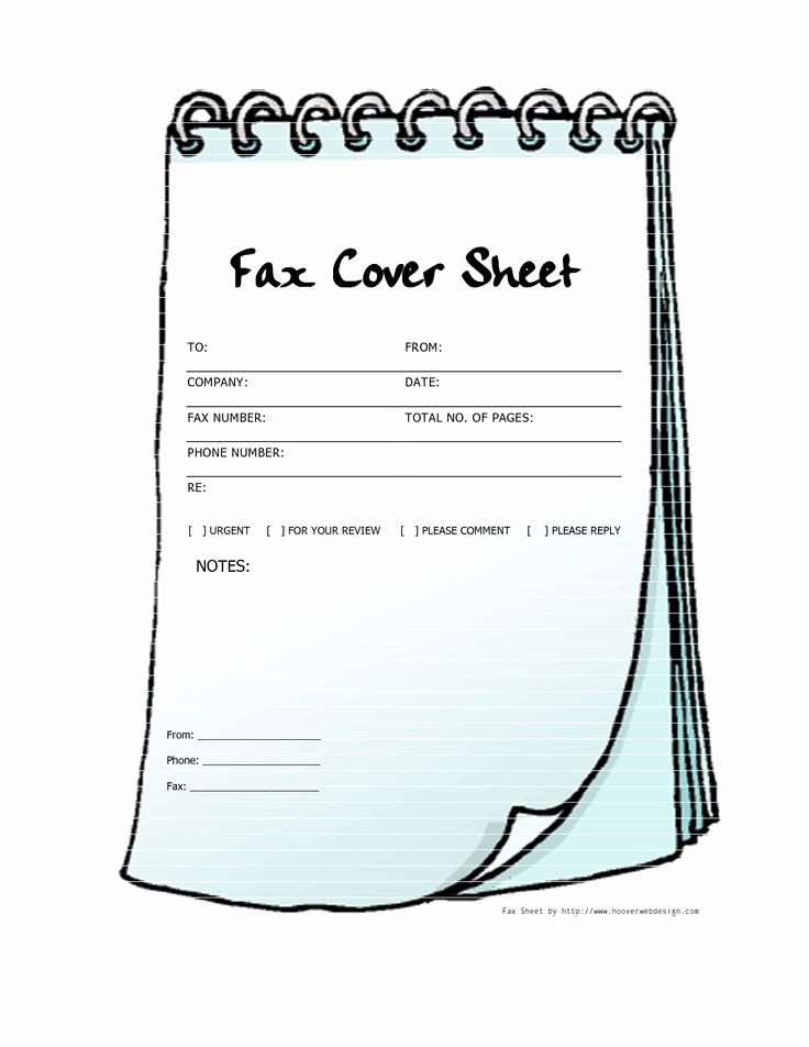 Fax Cover Sheet Template Free Beautiful Free Printable Fax Cover Sheets