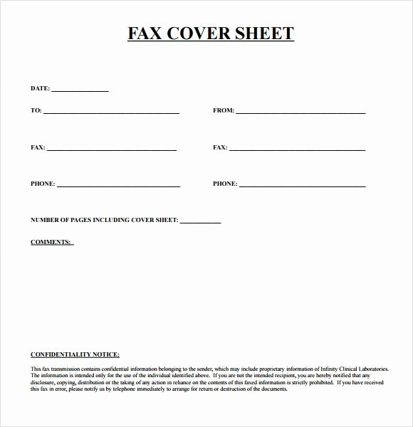 Fax Cover Sheet Template Free Beautiful Sample Urgent Fax Cover Sheet 7 Documents In Pdf