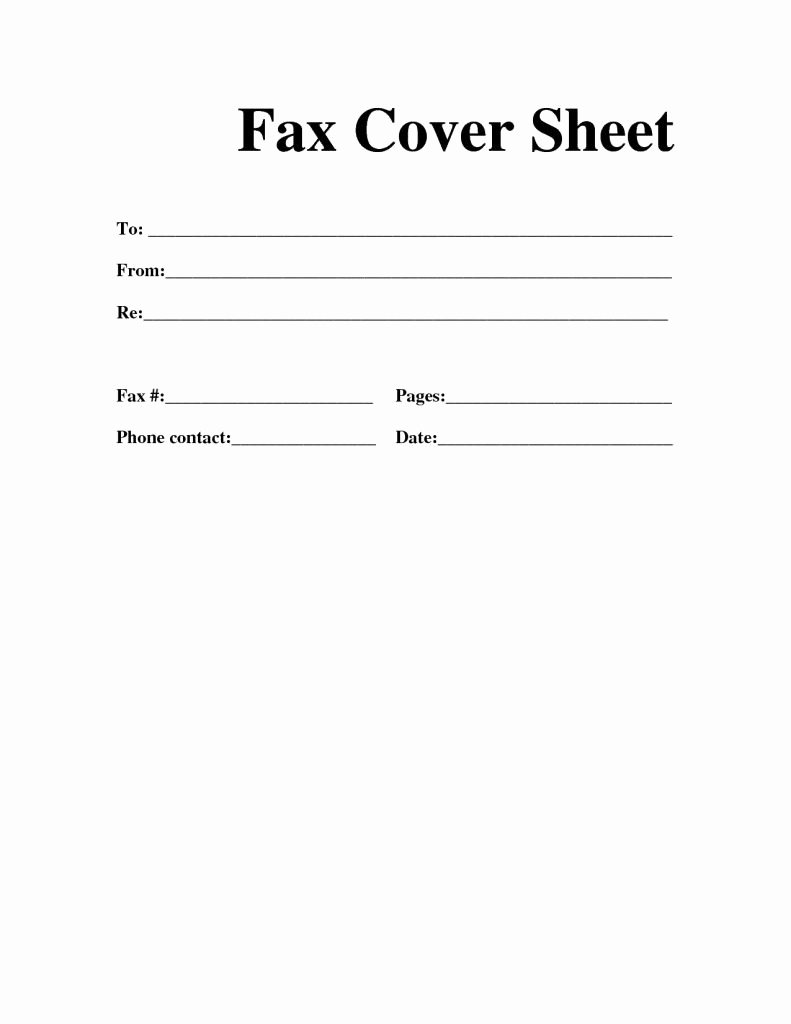 Fax Cover Sheet Template Free Fresh Pin by Calendar Printable On Printable Calendar In 2019