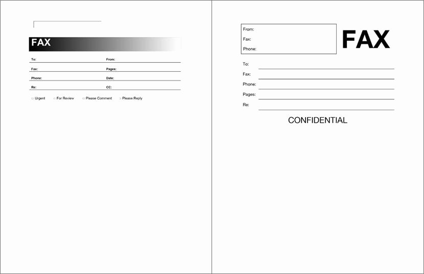Fax Cover Sheet Template Free Inspirational Free Fax Cover Sheet Template format Example Pdf Printable