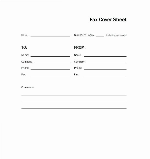 Fax Cover Sheet Template Word Best Of Free Cover Sheet Pics – Free Fax Template Download 38