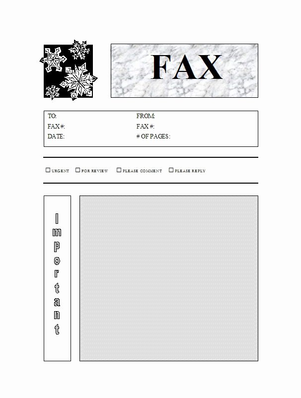 Fax Cover Sheet Template Word Luxury 40 Printable Fax Cover Sheet Templates Free Template