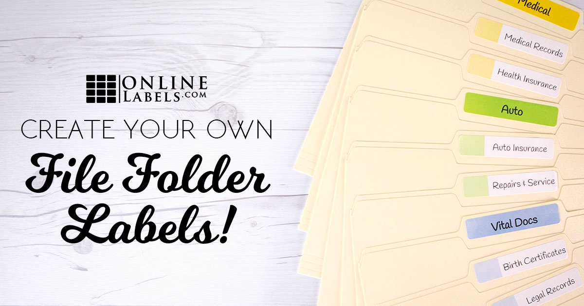 File Folder Label Template Best Of 3 Ways to Create Your Own File Folder Labels