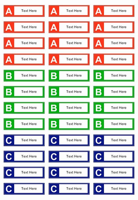 File Folder Label Template Best Of File Folder Label Templates to Create Office Folder Labels