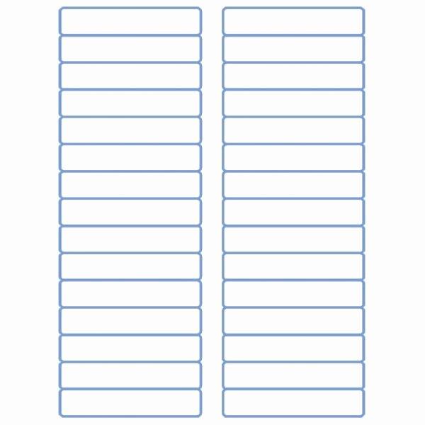 """File Folder Label Template Best Of File Folder Labels Laser Labels Inkjet Labels 2 3"""" X"""