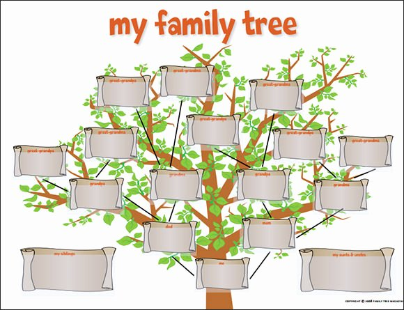 Fill In Family Tree Best Of Family Tree Template 29 Download Free Documents In Pdf