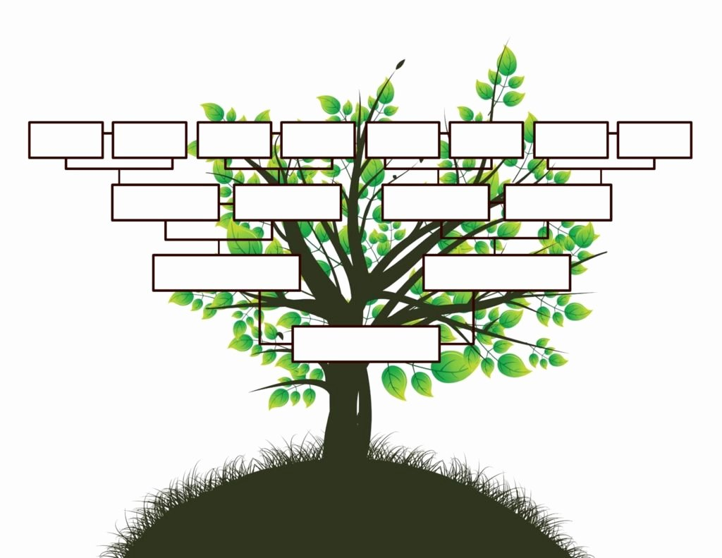 Fill In Family Tree Fresh Free Editable Family Tree Template Daily Roabox