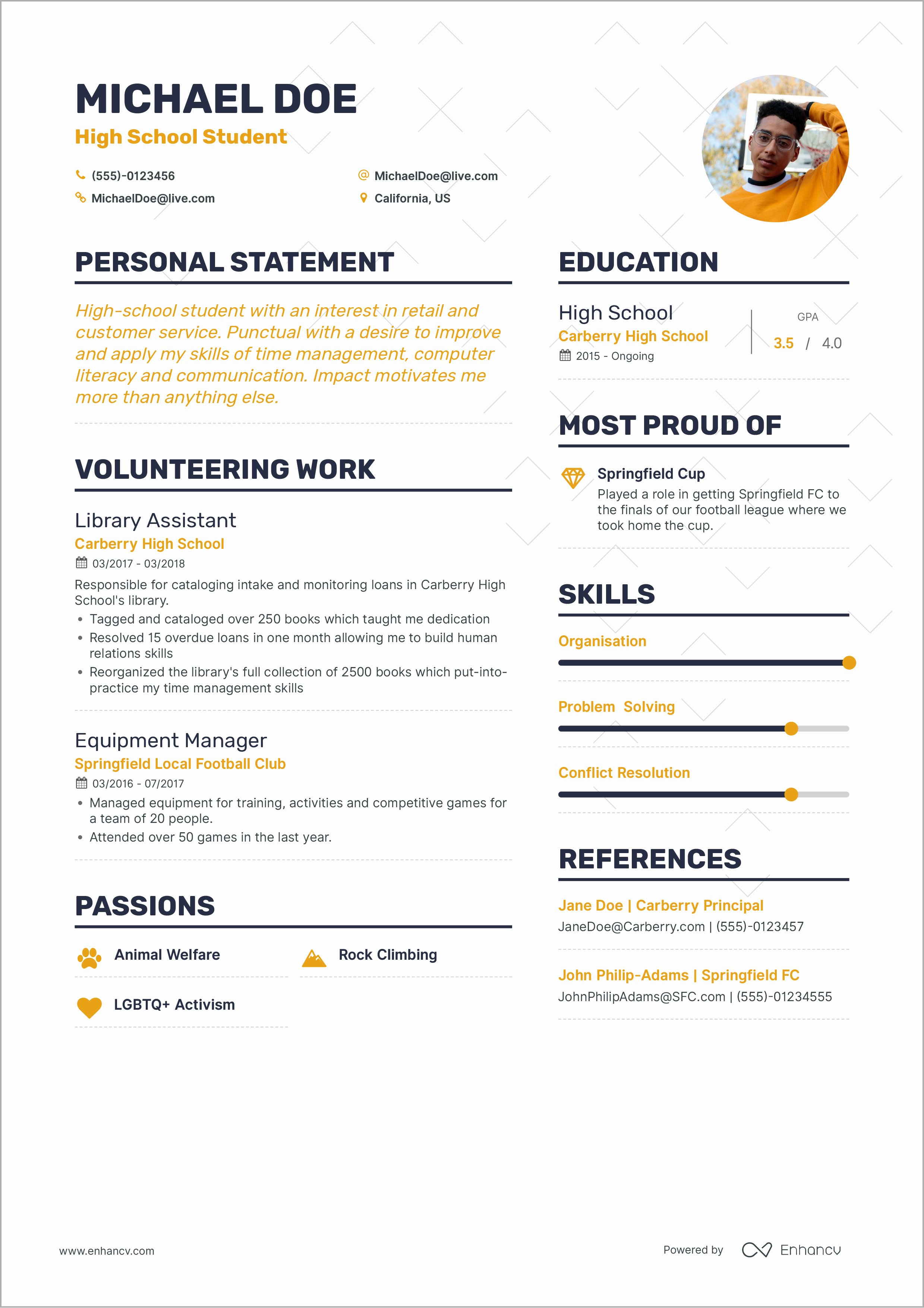 First Job Resume Template New How to Write Your First Job Resume Guide