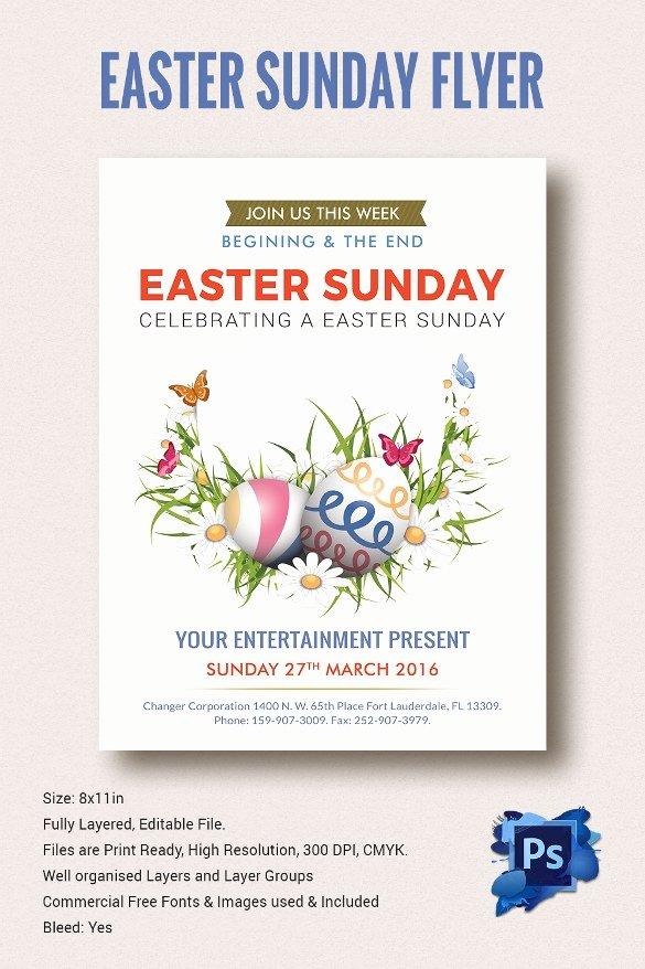 Flyer Templates Free Downloads Awesome Easter Flyer Template 28 Download Documents In Vector