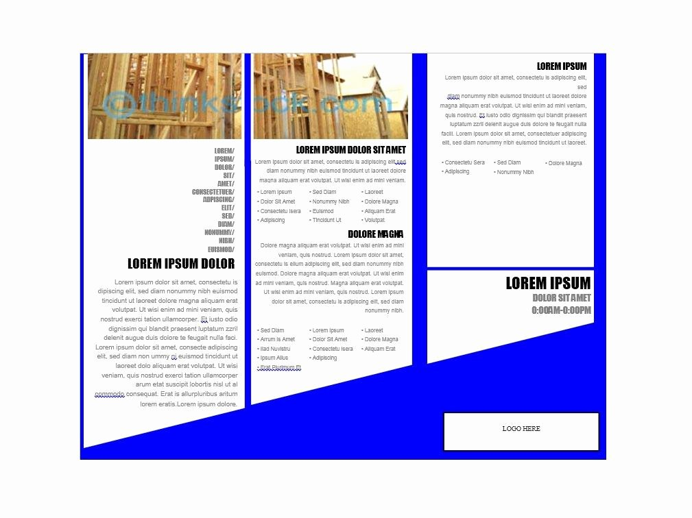 Flyer Templates Free Downloads Best Of 31 Free Brochure Templates Ms Word and Pdf Free