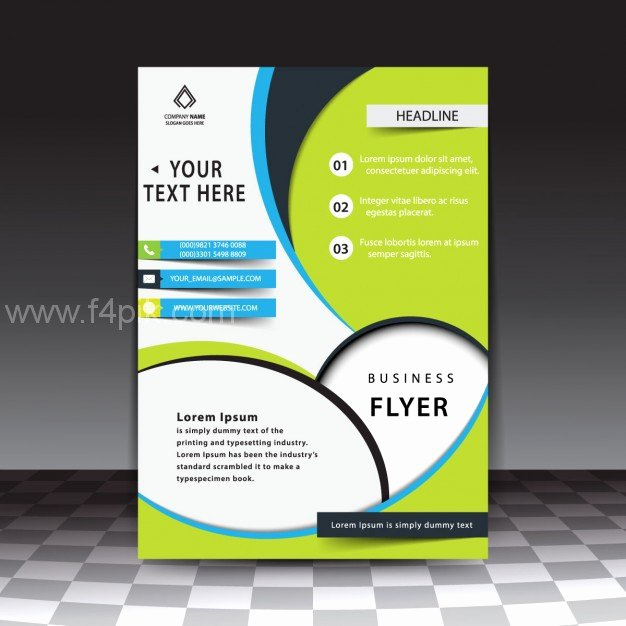 Flyer Templates Free Downloads Best Of [ Vector ] Modern Stylish Business Flyer Template Free