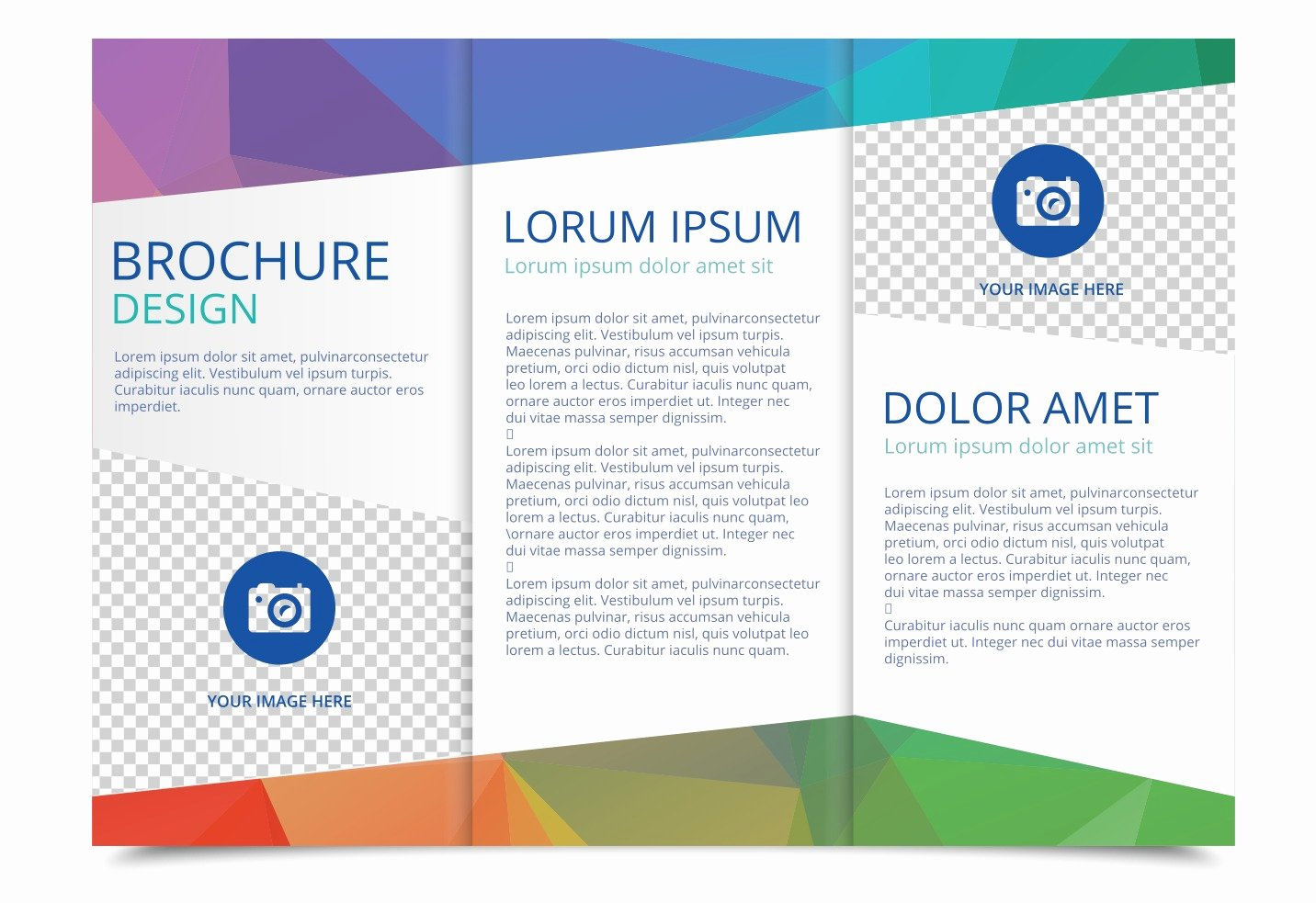 Flyer Templates Free Downloads Lovely Free Tri Fold Brochure Vector Template Download Free