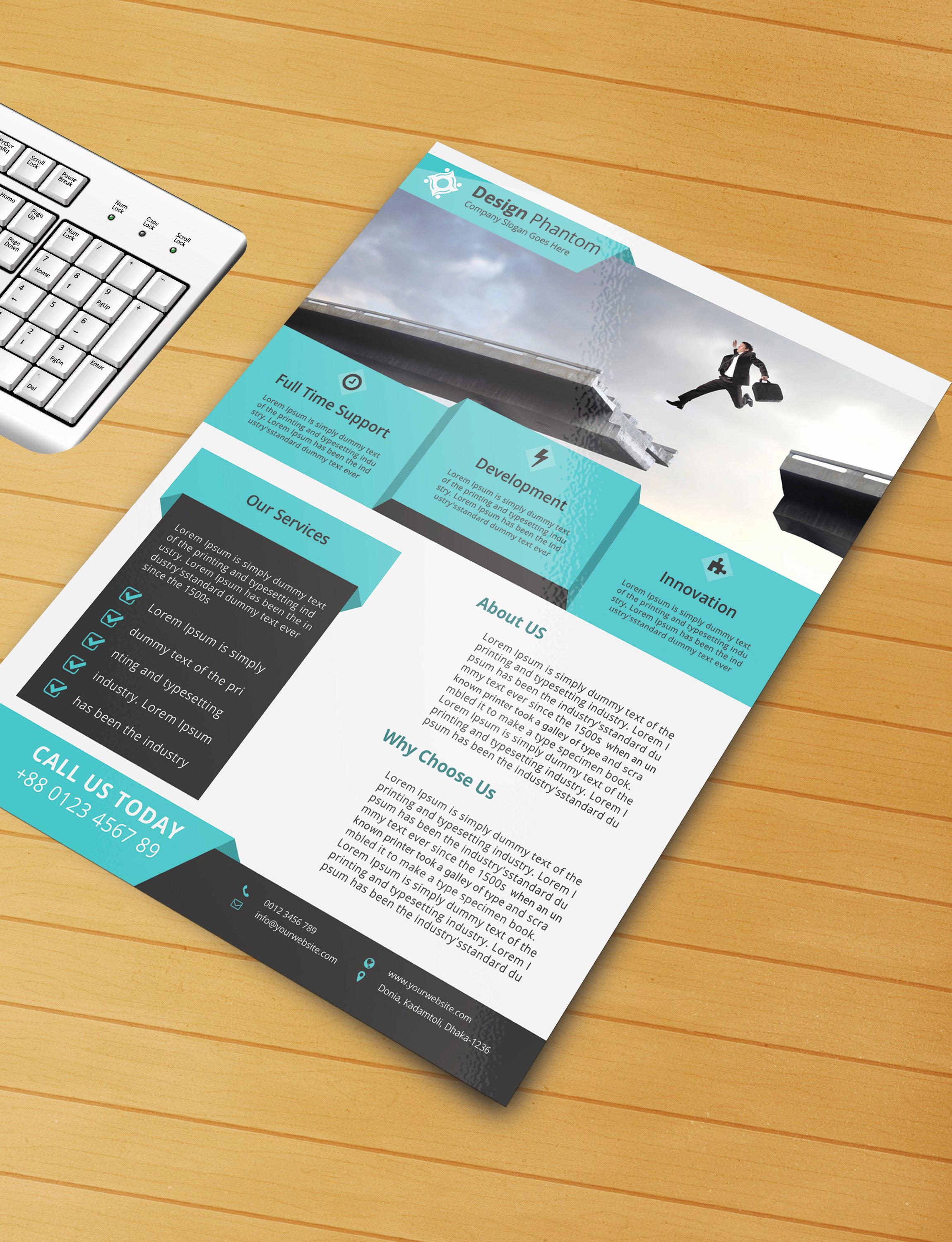 Flyer Templates Free Downloads Luxury Free Flyer Psd Template Free Download by Designphantom