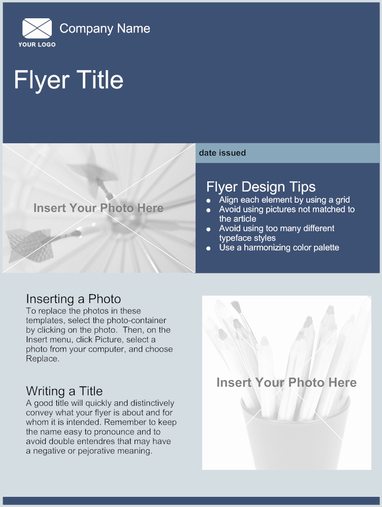 Flyers Templates Free Word Awesome Flyer Template Free