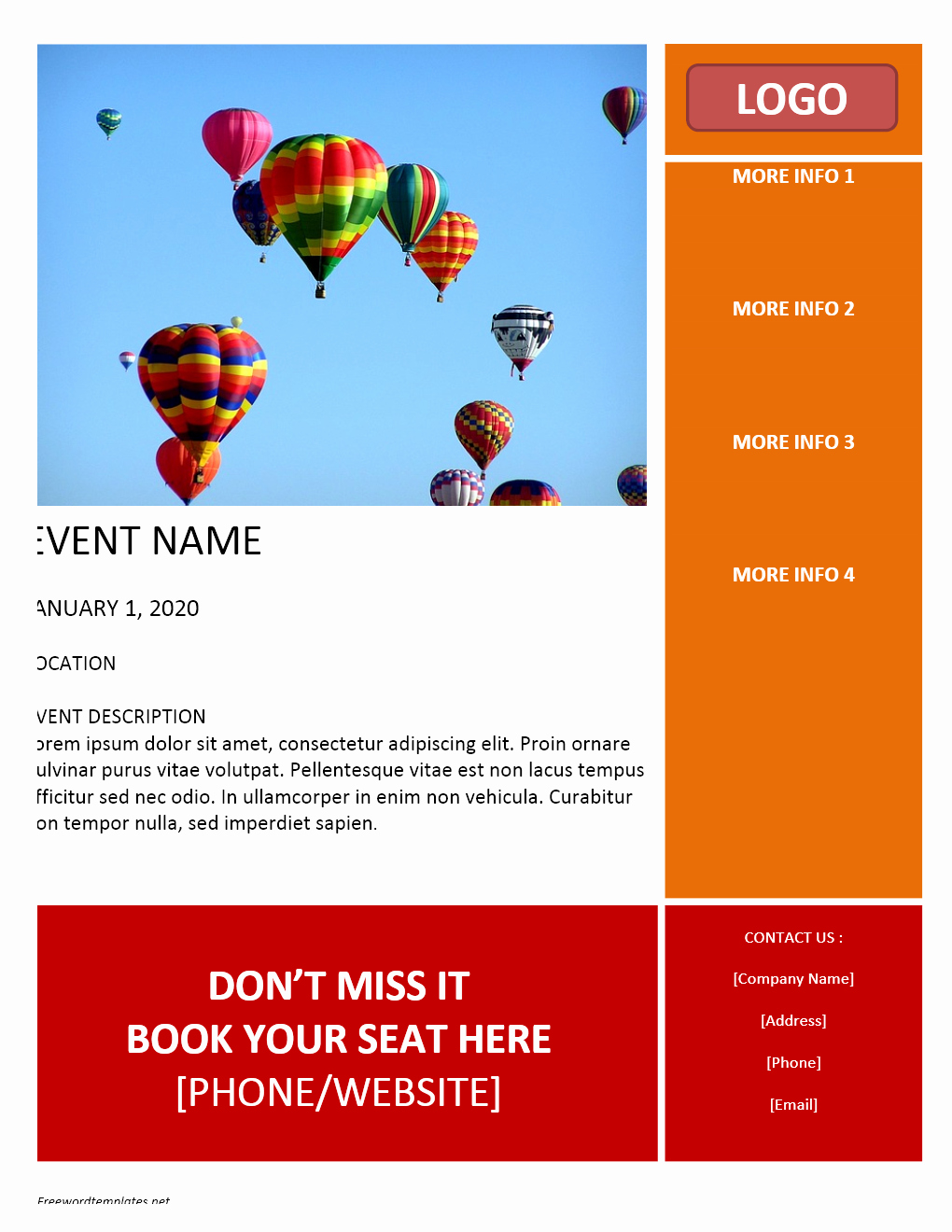 Flyers Templates Free Word Best Of Flyer Archives