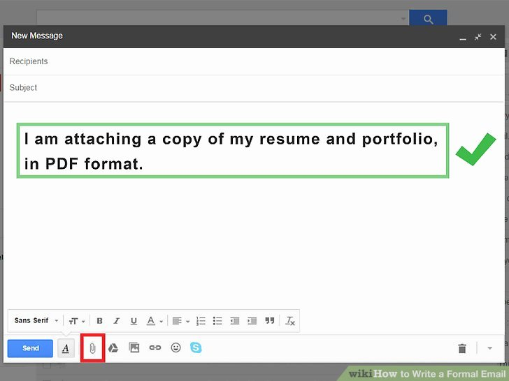 Formal E Mail Example Lovely 4 Ways to Write A formal Email Wikihow