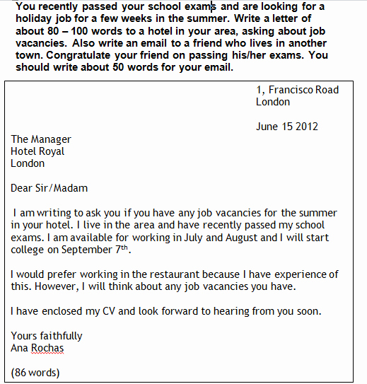 Formal E Mail Example Lovely formal Letter Writing and Informal Email Writing Myfcegroup