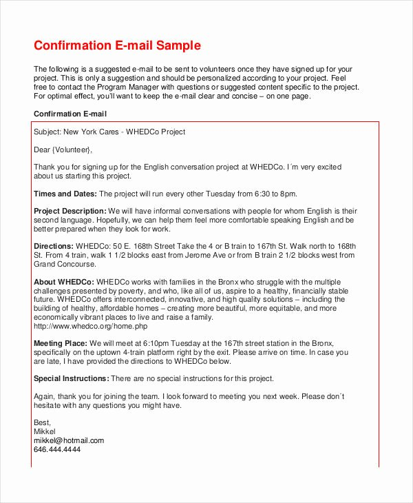 Formal E Mail Example Lovely Free 5 formal Email Examples and Samples In Pdf