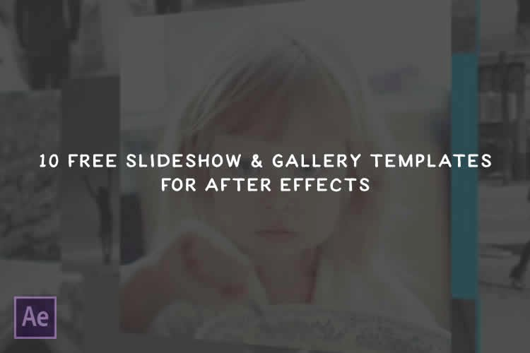 Free after Effects Slideshow Templates Lovely the 10 Best Free Slideshow & Gallery Templates for after