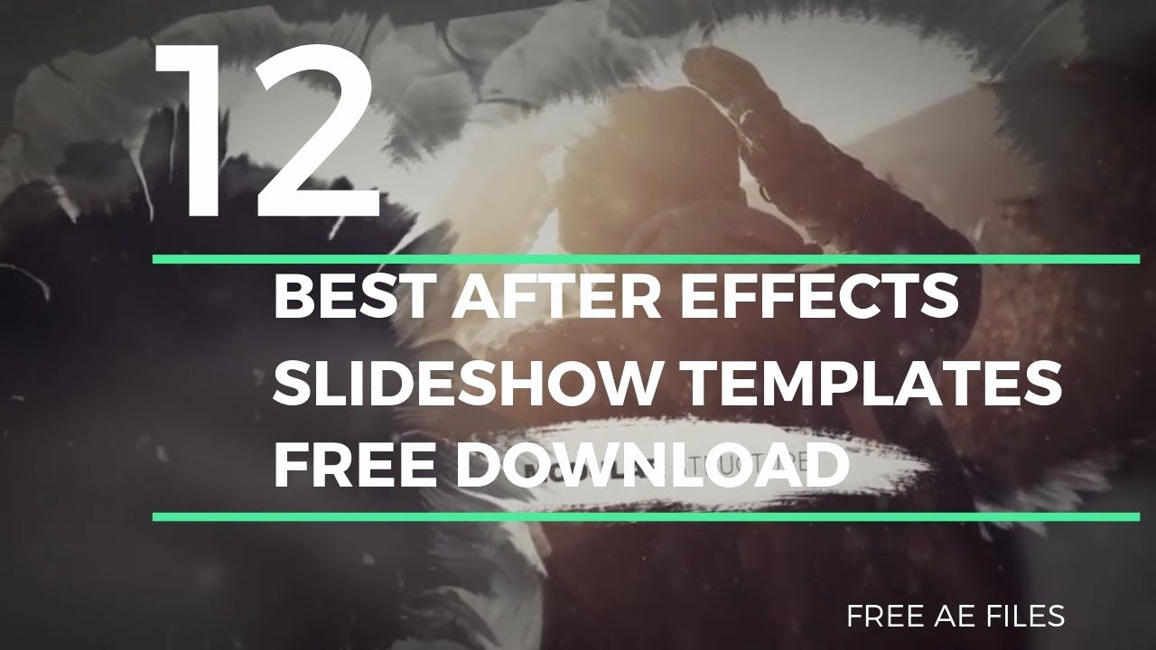 Free after Effects Slideshow Templates Luxury Free after Effects Slideshow Templates after Effects