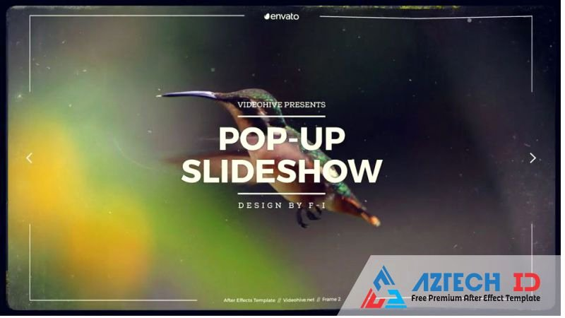 Free after Effects Slideshow Templates Luxury Free Premium after Effect Template Videohive Pop Up