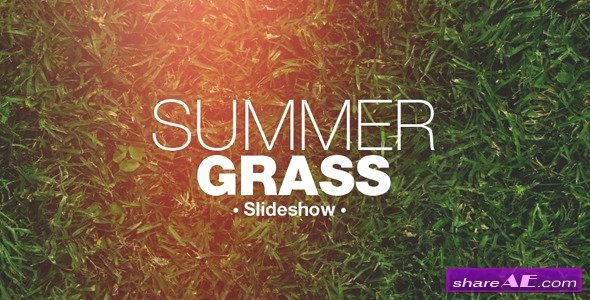 Free after Effects Slideshow Templates Luxury Grass Slideshow after Effects Project Videohive Free